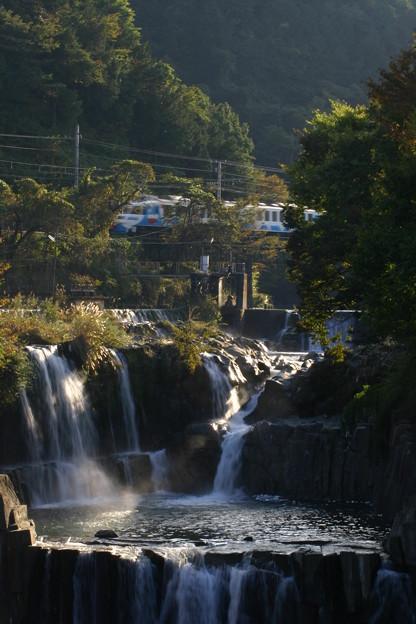 山梨 田原の滝5