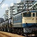 米タンに原色赤プレのEF65 1064!!!