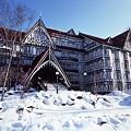 205 ホテル外観 冬 by ホテルグリーンプラザ軽井沢
