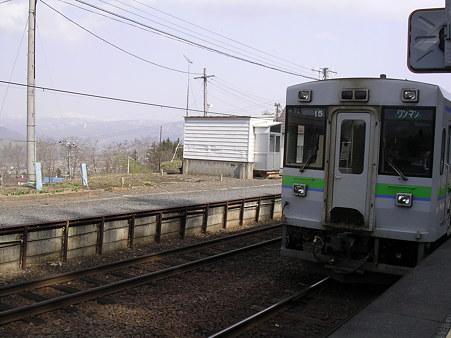 銀山駅ホーム1