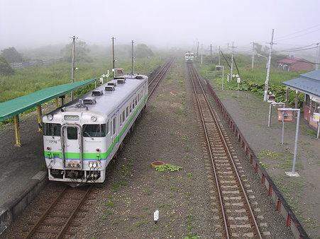 尺別駅ホーム2