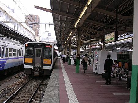 新潟駅2番ホーム