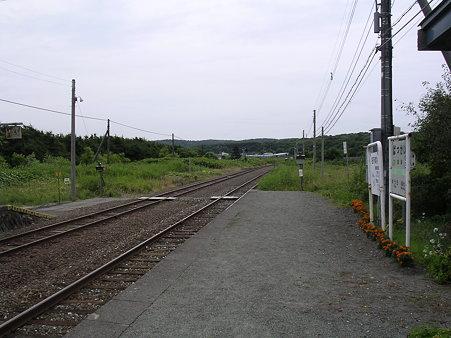抜海駅ホーム1