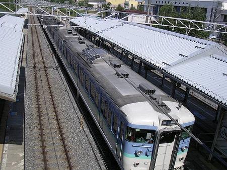 富士見駅ホーム2
