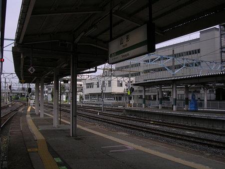 山形駅ホーム1