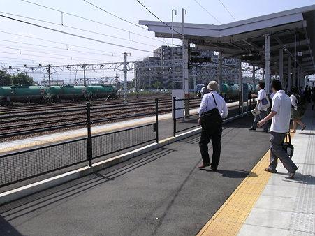 南松本駅ホーム
