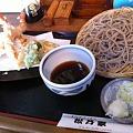 写真: 天ぷら蕎麦