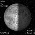 写真: Operaウィジェット:Moon Phase