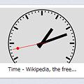 写真: Operaスピードダイヤル・エクステンション:Friendly Clock Speed Dial Extension - Analog