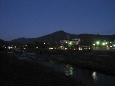 夜の比叡山