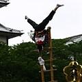 写真: 金沢百万石まつり 加賀とび