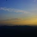 写真: 雲の上まで!