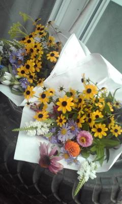 Photos: お墓用花
