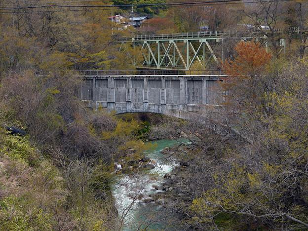 松谷発電所 須川水路橋