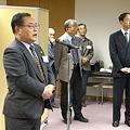 Photos: 同窓会長のご挨拶