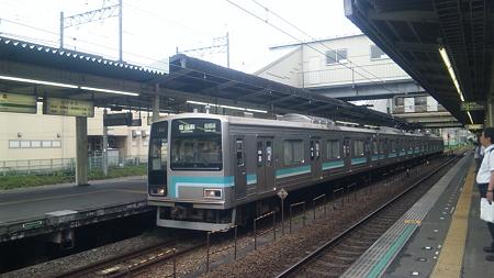 205系相模線(橋本駅)