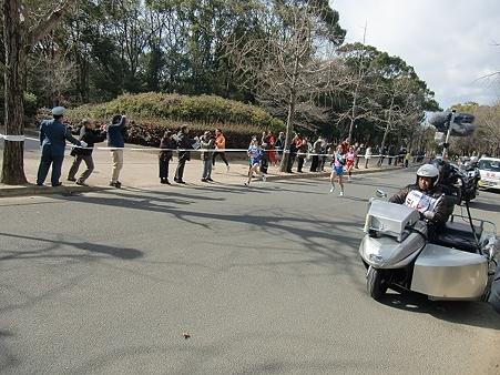 大阪女子マラソン復路28・8K地点
