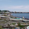 写真: 漁業の町