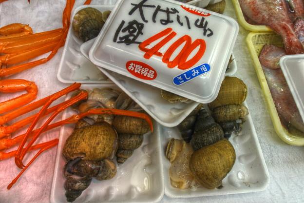 Photos: 富山湾の幸7(白バイ、特大)