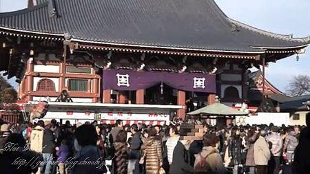 2011初詣 池上本門寺 -1