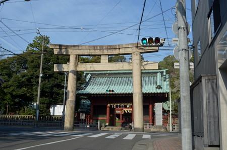 静岡浅間神社・石鳥居