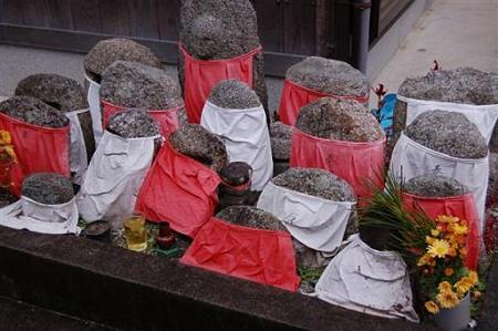 滋賀 穴太の里 石仏