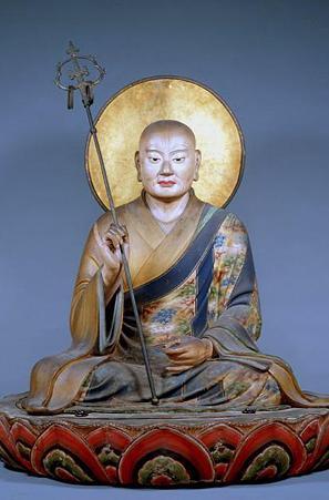 東大寺僧形八幡神坐像