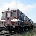 阿字ヶ浦駅に留置中のキハ221