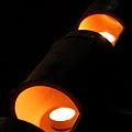 布川神社 竹灯篭