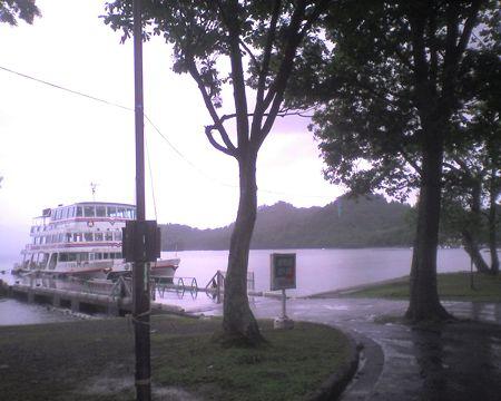 十和田湖到着