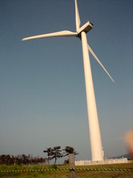 Photos: 風力発電用風車