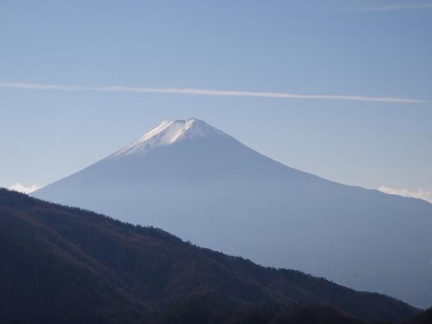 本社ヶ丸からの富士山