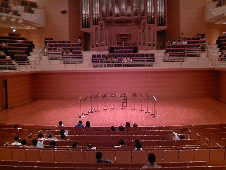 ベルリンフィル12人の金管奏者たちセッティング