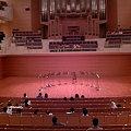 写真: ベルリンフィル12人の金管奏者たちセッティング