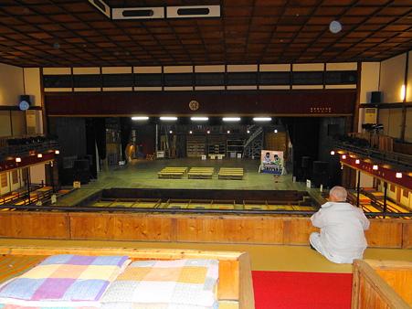嘉穂劇場2階観客席