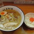 Photos: 麺屋えびす 味噌+ライス