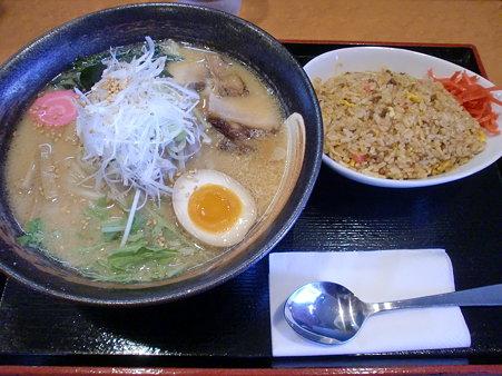 麺処 咲柳 ごま味噌ラーメン+小辛チャーハン