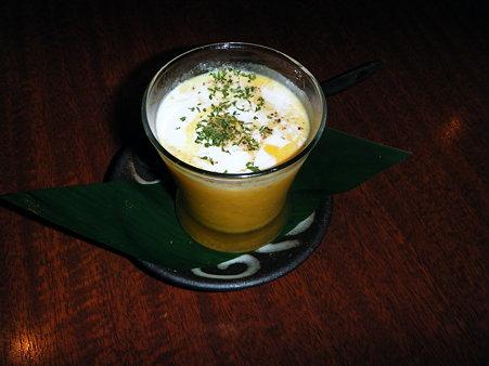 南瓜の冷製スープ