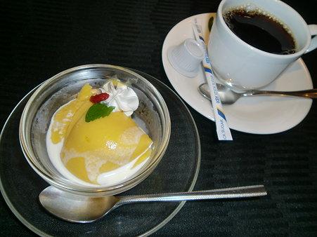 マンゴープリン&コーヒー
