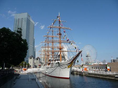 091012-日本丸 満船飾 (1)