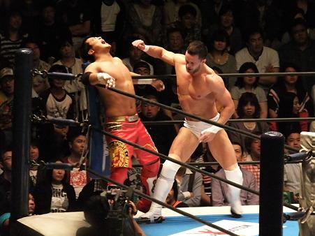 新日本プロレス BEST OF THE SUPER Jr.XIX Aブロック公式戦 プリンス・デヴィットvsKUSHIDA (5)