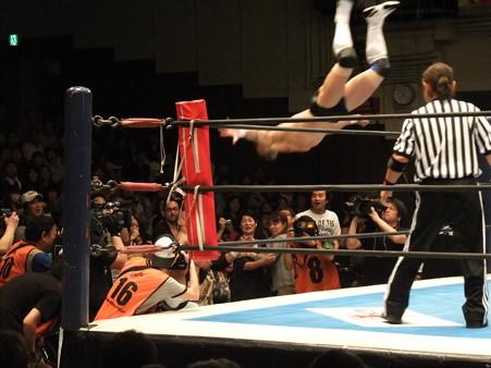 新日本プロレス BEST OF THE SUPER Jr.XIX 準決勝戦 Aブロック2位 プリンス・デヴィット vs Bブロック1位 ロウ・キー (5)