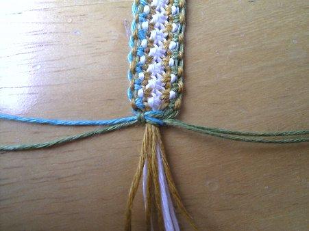 七宝編みの編み方2