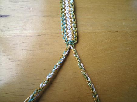七宝編みの編み方3