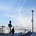飛行機雲?