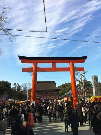 津島神社門前