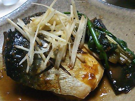 サバの味噌煮~。