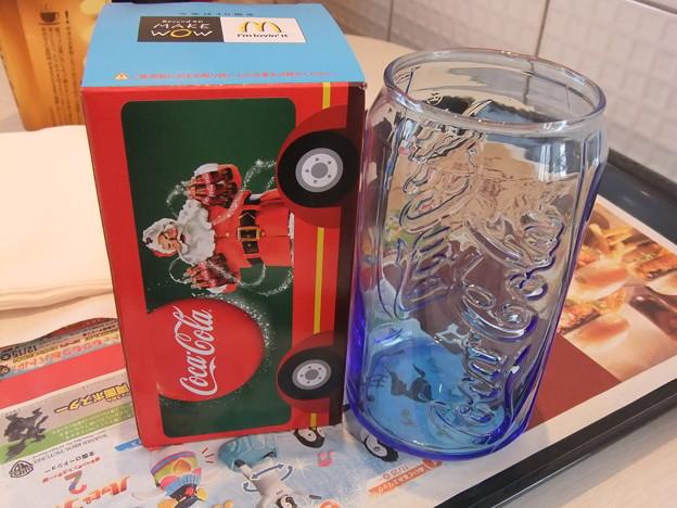 もらえる!Coke glass