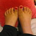 Photos: 足のつめ 足のかたち嫌いや