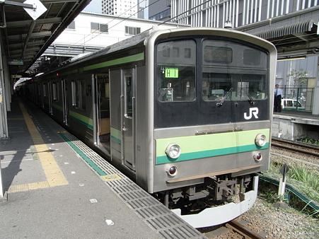 205系横浜線(橋本駅)
